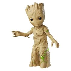 """Dancing Baby Groot Vol. 2 Has Come To Take Funk Back To Its Roots Yes, with Marvel's """"Guardians of the Galaxy Vol. edging nearer on the horizon, Hasbro has unveiled Dancing Groot Vol. 2 for a Spring 2017 arr. Baby Groot, Groot Toy, Marvel Avengers, Captain Marvel, Hulk, X Men, Captain America, Thor, Groot Action Figure"""
