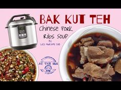 Bak Kut Teh Chinese Pork Ribs Soup recipe electric pressure cooker Brevi...