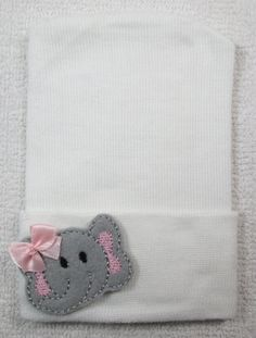 Newborn Hospital Hat Newborn Beanie Newborn by winstonscrochetbaby