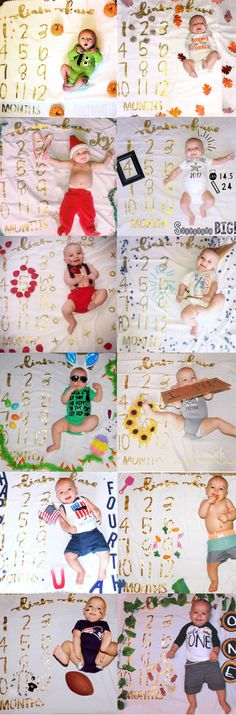 ideas baby pictures newborn props blankets for 2019 One Month Baby, Babies First Year, Milestone Pictures, Baby Pictures, Baby Photo Collages, Monthly Baby Photos, Monthly Pictures, Baby Milestone Blanket, Milestone Blankets