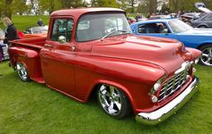 Chevy truck with Corvette LT1 engine - Woburn Abbey 2015