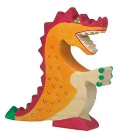 Amazon.com: Holztiger Wooden Red Dragon: Toys & Games. I have seen these in person and they are very nice quality. Would love to buy a set to use in some decorative way