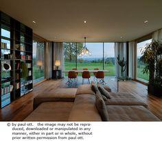 Haus P / Gangoly & Kristiner Architekten ZT GmbH - Paul Ott Pfotografiert Design Case, Cabana, Zen, House Design, Room, Austria, Inspiration, Home Decor, Interiors