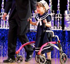 Beauty pageant for girls with disabilities celebrates its tenth year after being launched by former Miss USA contestant with cerebral palsy.  www.beutifulmagazine.com