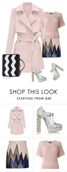 """""""Без названия #197"""" by yarygik ❤ liked on Polyvore featuring Sophia Webster, Emilio Pucci, Diesel Black Gold, Mark Cross, women's clothing, women's fashion, women, female, woman and misses"""