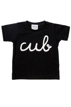 Just the ticket for all your little cubs out there, this tee is the perfect styling partner to, well, pretty much any of our leggings but especially Just Call M