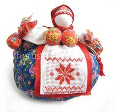 Handmade Amulet Doll (15 cm)