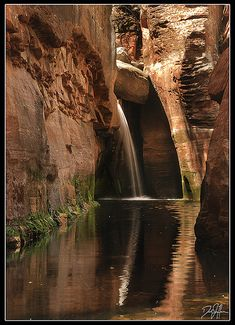 Secret Waterfall in