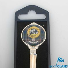 Kennedy Clan Crest Spoon