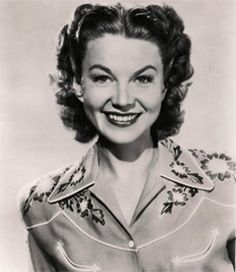 Jane Frazee, 1940s. #vintage #cowgirls #fashion #actresses