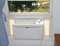 Off-grid solar-powered air conditioner. Yep, it's possible to power an A/C with photovoltaic panels.