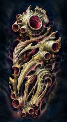 Sketches from Hyperspace tattoo studio (color). Biomech Tattoo, Biomechanical Tattoo Design, 4 Tattoo, Dark Tattoo, Sketch Tattoo Design, Tattoo Sketches, Tattoo Drawings, Body Art Tattoos, Sleeve Tattoos