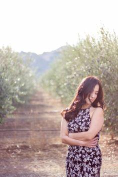 Rosana, a portrait among olive trees in San Martin, CA http://www.junesoulbyali.com