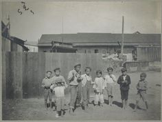 "children from ""Palama Settlement"": 1903--- Palama Settlement, Honolulu, H.T.: Prospective citizens Hawaiian, Chinese and Japanese.---"