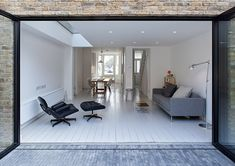 London house extensions awarded by Don't Move, Improve! Modern Interior, Interior Architecture, Interior Design, Interior Ideas, Interior Inspiration, Living Area, Living Spaces, Living Room, Victorian Terrace