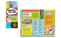 Tri Fold Panel School Brochure Brochure Design Portfolio - 6 panel brochure template