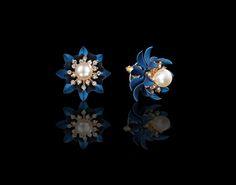 Tempting Treasure Floral Inspired Earrings - $30 http://www.muwae.com/shop/tempting-treasure-floral-inspired-earrings