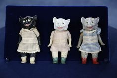 Gebruder Heubach Cats, ca. 1910 | Antiques Roadshow | PBS