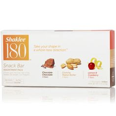 Shaklee 180 Assorted Snack Bars    A sweet, guilt-free treat.    Snack on and be happy. Loaded with protein and fiber, just one delicious Shaklee 180 Snack Bar will go a long way in curbing hunger and keeping the munchies at bay. #shaklee #shaklee180