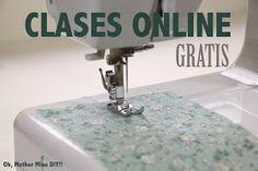 clases de costura gratis online aprender a coser. Blog de costura y diy