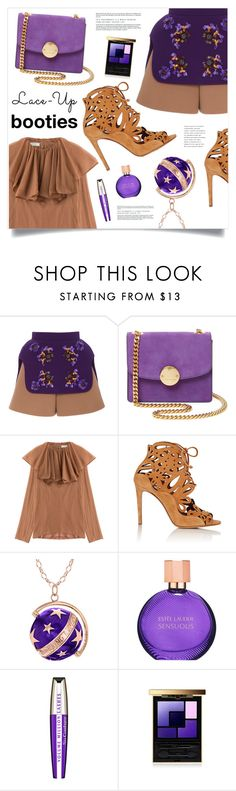 """Lace It Up"" by marina-volaric ❤ liked on Polyvore featuring Delpozo, Marc Jacobs, Nina Ricci, Tabitha Simmons, True Rocks, Estée Lauder, L'Oréal Paris and laceup"