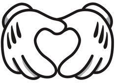 #Disney #heart #hand image. OWuls love to put a photo in the heart area.