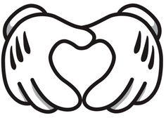 "Mickey ""love"" hands"
