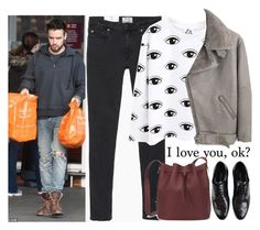 """""""shopping with Liam"""" by ilaria-1999 on Polyvore featuring moda, Acne Studios, Sophie Hulme e Dolce&Gabbana"""