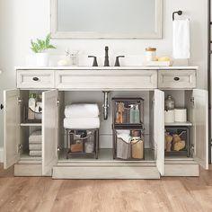 Cabinet Drawers, Bathroom Organisation, Bathrooms Remodel, Bathroom Storage Cabinet, Cabinet Organization, Diy Bathroom Decor, Bathroom Design, Drawers, Diy Bathroom Storage