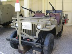Jeep Willys Used In Israeli War Of Independence Idf History Museum In Tel Aviv Willys Jeep Willys Willys Mb