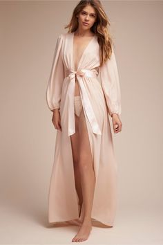 glamour   Mirah Robe from BHLDN