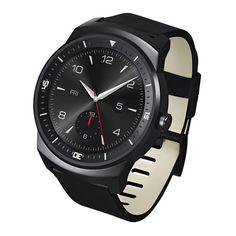 """#Smartwatch LG G Watch R; Presentamos el LG G Watch R, un Smartwatch o un reloj inteligente con sistema operativo Android Wear, pantalla táctil circular de 1.3"""" con p-oled de 245 ppp, compatible con Android 4.3 o superior, batería de 410 mAh y resistente al agua y polvo (IP67). Es el complemento perfecto para el día a día y es estar siempre conectado... En  http://www.opirata.com/smartwatch-watch-p-28493.html"""
