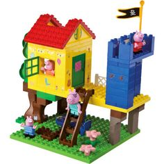 BIG PlayBIG Bloxx Peppa Pig - Boomhuis pinkorblue.nl ♥ Ruim 40.000 producten online ♥ Nu eenvoudig online shoppen!