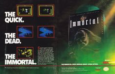 NES gamers get some PC game love with The Immortal (1991).