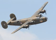 one of only two flyable B-24 Liberator bombers left in the world