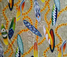 Polynesian Designs - Beach Shower Curtain Microfiber Hangin 10 Tan, $58.00 (http://www.polynesiandesigns.com/beach-shower-curtain-microfiber-hangin-10-tan/)