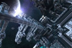 Astral City Tenements by GrahamSym.deviantart.com on @DeviantArt