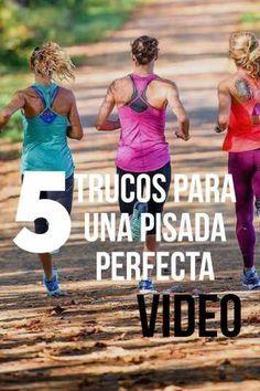 5 Trucos Para Una Pisada Perfecta Video Técnicas De Carrera Entrenamiento Para Correr Entrenamiento Maraton