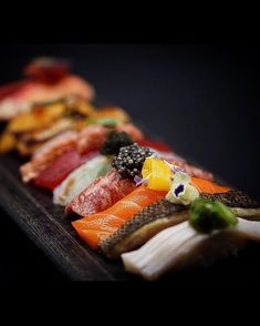 Seafood Buffet, King Salmon, Halibut, Sashimi, Food Presentation, Trout, Tuna, Food Art, Fish
