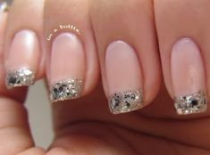 Colored French Manicure, so cute!  JOIN the VIP Club for romantic ideas, challenges and games directly to your inbox! Click here=> http://theromanticbox.us7.list-manage.com/subscribe?u=baebd0dc0ffb18b96b6943451&id=873908bcb8