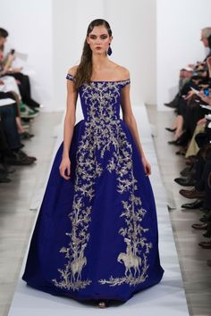 Oscar de la Renta Fall 2013, again use color in your wedding especially with your dress, be daring, be the true you