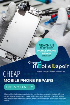 Cheap Mobile Repair specialize in #mobile_phone_repairs_Sydney, iPhone repair, laptop repairs and more with the use of top-notch technicalities and implementation of superior analytical skills of our extremely talented team.