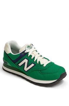 Lucky kicks: New Balance '574 Rugby' sneakers