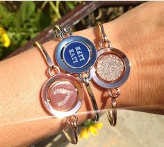 What's your favorite? #Gold? #Silver? #Rosegold? Wear them all together! #fallfashion #WORDplay #Carolee #armcandy