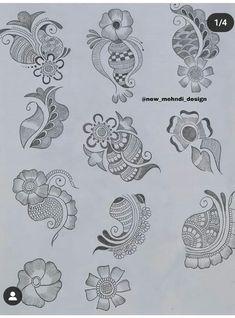 Mehndi Designs For Kids, Rose Mehndi Designs, Back Hand Mehndi Designs, Latest Bridal Mehndi Designs, Mehndi Designs 2018, Henna Art Designs, Mehndi Designs For Beginners, Unique Mehndi Designs, Mehndi Design Photos