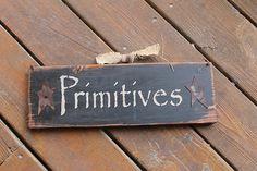 PRIMITIVES primitive Rustic Distressed by AmericasFrontPorch, $24.00