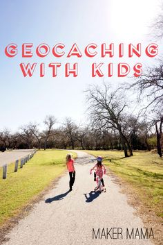 tips for geocaching with kids - a fun family activity