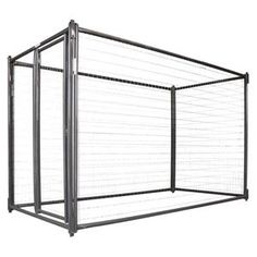 Complete Kennel 10' x 10' x 6', Value Chain Link Kennels