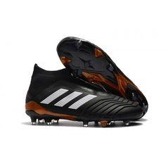 1ecb84ee3540 adidas Predator 18+ FG Carbon grå negle fodboldstøvler Fodboldstøvler