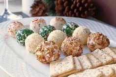 Individual Cheese Balls #party #food